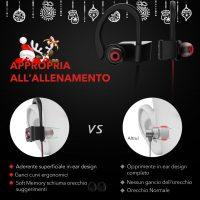 Cuffie Auricolari Bluetooth per Sport 4