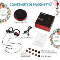 Cuffie Auricolari Bluetooth per Sport 8