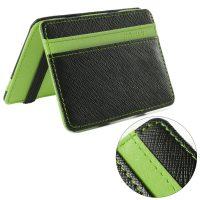 Portafolio Slim in Simil Cuoio Verde 6