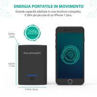 RAV Power Bank Caricatore Portatile Smartphone 4