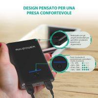RAV Power Bank Caricatore Portatile Smartphone 7