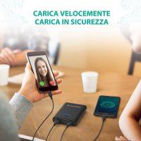RAV Power Bank Caricatore Portatile Smartphone 8