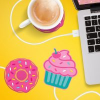 Scalda Tazza USB Cupcake Rosa 2