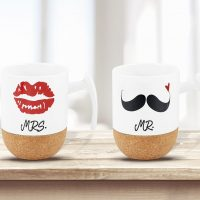 Tazza per bevande Mr. e Mrs. 6