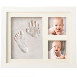 cornice foto con impronta mani e piedi 1