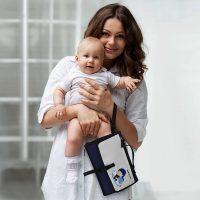fasciatoio portatile per bambini kit da viaggio 3
