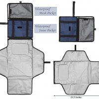 fasciatoio portatile per bambini kit da viaggio 5