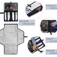 fasciatoio portatile per bambini kit da viaggio 6