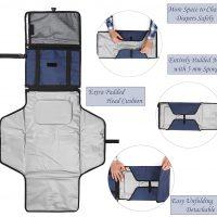 fasciatoio portatile per bambini kit da viaggio 7