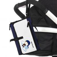 fasciatoio portatile per bambini kit da viaggio 8