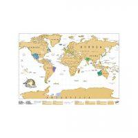 mappa segna viaggi da grattare 4