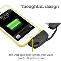 portachiavi con cavo per ricarica iphone 4