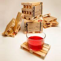 set sottobicchieri in legno pallet 7