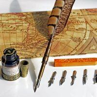 Penna d'Oca Calamaio Antica da Scrittura 4