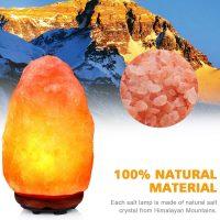 Idea regalo per la casa e genitori – Lampada di Sale dell'Himalaya 04