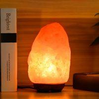 Idea regalo per la casa e genitori – Lampada di Sale dell'Himalaya 05