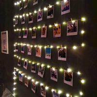 catena luminosa luci led portafoto 04