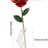idea regalo romantico – rosa stabilizzata 05