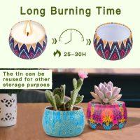 set di candele profumate per idea regalo per la donna 06