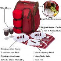 zaino da picnic con borsa frigo 03